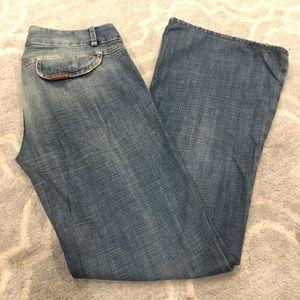 Designer Brand 7 for All Mankind Wide-leg Jeans